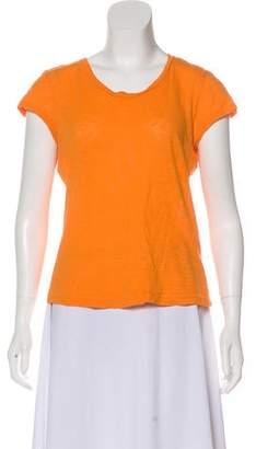 Rag & Bone Scoop Neck Short Sleeve Top