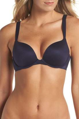 Spanx R) Pillow Cup Signature Push-Up Plunge Underwire Bra