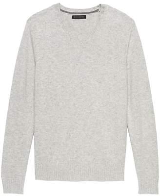 Banana Republic Italian Merino Wool V-Neck Sweater