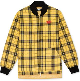 GLOBAL WORK Wu Wear Men Plaid Jacket