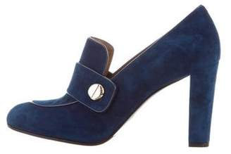 Fratelli Rossetti Suede Loafer Pumps