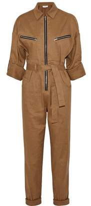 IRO Linen And Cotton-Blend Jumpsuit