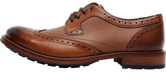 Ted Baker Mens Cassius 4 Leather Brogues Tan