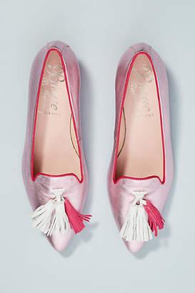 Bisue Ballerinas Metallic Tasseled Loafers