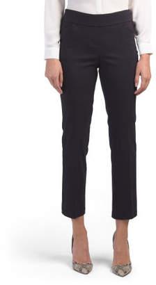 Petite Millennium Straight Leg Career Pants