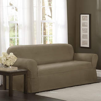 Maytex Mills Maytex Smart Cover Torie Medallion Stretch 1 Piece Loveseat Furniture Cover Slipcover