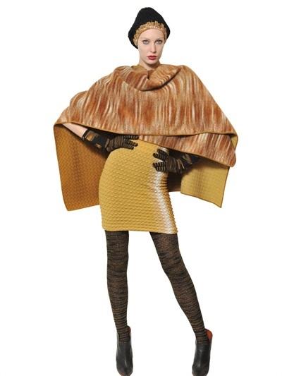 Missoni Reversible Wool Cape Shawl
