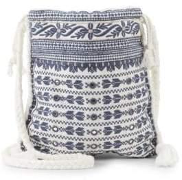 Mendi Embroidered Crossbody Bag