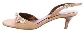 Rodo Embellished Slingback Sandals