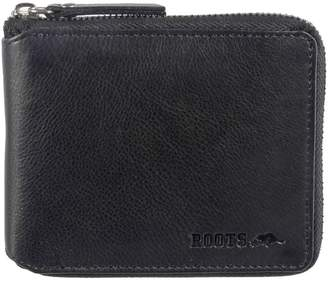 Roots 73 Silhouette Zip-Around Leather Wallet