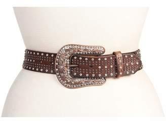 M&F Western Studded Belt w/ Bronze Buckle
