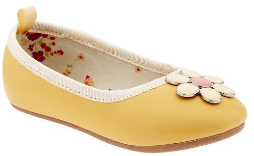 Gap Flower gem ballet flats
