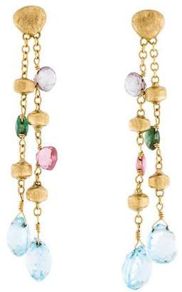 Marco Bicego 18K Paradise Gemstone Drop Earrings