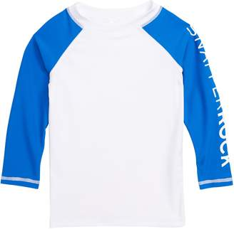 Snapper Rock Colorblock Raglan Rashguard