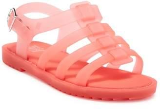 Mini Melissa Flox Ankle Strap Sandal (Little Kid)