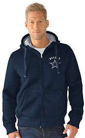 NFL Dallas Team Color Poly Knit with SherpaLining Hoodie