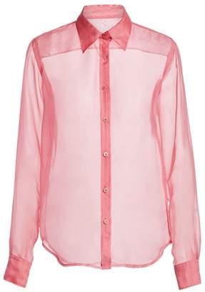 Helmut Lang Silk Organza Shirt
