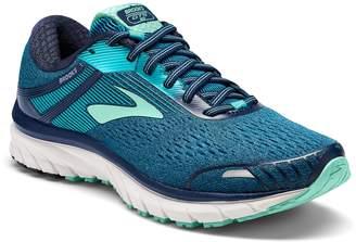 Brooks Women's Adrenaline GTS 18 D Running Shoe (BRK-120268 1D 3935540 6.5 NAY/Tea/MIN)