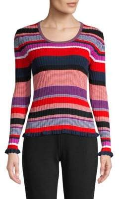 BOSS Fallegria Ribbed Knit Pullover