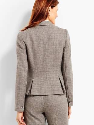 Talbots Luxe Tweed Single-Button Jacket