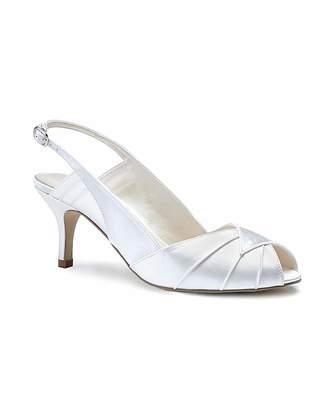 Daniel Footwear Paradox London Pink Cecilia Peep Toes