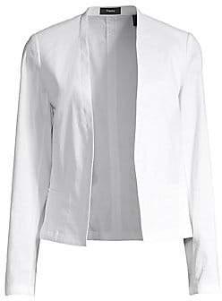 Theory Women's Clean Shawl Collar Blazer - Size 0