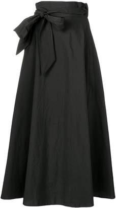 Barena full side tie skirt
