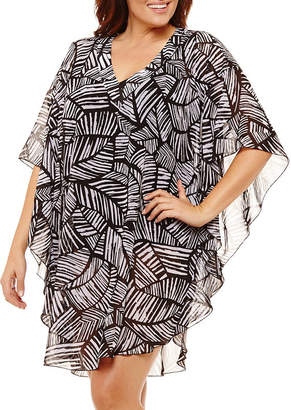 Maxine Of Hollywood AZUL BY Azul by Swimsuit Cover-Up Dress-Plus