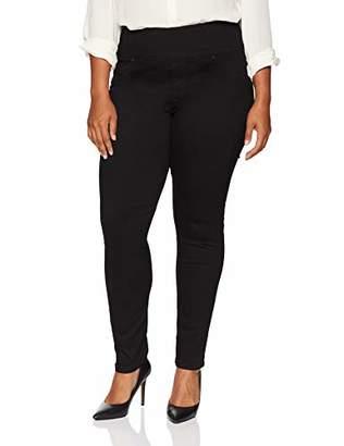 Lee Women's Plus-Size Sculpting Slim Fit Skinny Leg Pull on Jean