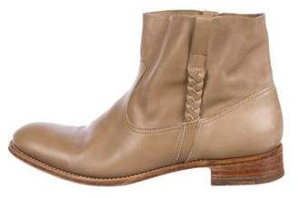 NDC Leather Ankle Boots