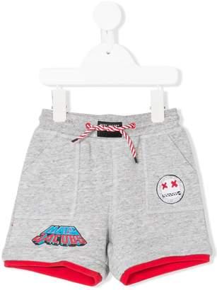 Little Marc Jacobs logo print track shorts