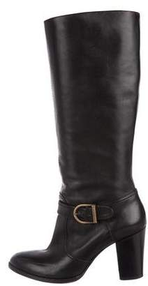 Robert Clergerie Clergerie Paris Leather Knee-High Boots