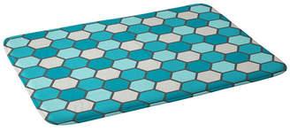 Deny Designs Holli Zollinger Ocean Tile Bath Mat Bedding