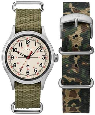 Todd Snyder Timex + The Military Watch in White