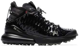 reputable site 4b482 f5442 Nike black ISPA air max 270 high top sneakers