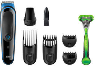 Braun NEW MGK3040 7-in-1 Face & Body Grooming Kit