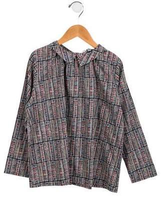 Tuchinda Girls' Printed Oversize Top