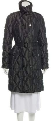 Burberry Down Quilted Coat