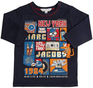 Little Marc Jacobs 1984 Printed Cotton Jersey T-Shirt