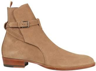 Saint Laurent Signature Wyatt 30 Jodhpur Ankle Boots