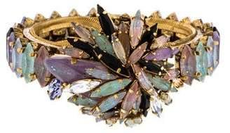 Erickson Beamon Hinged Crystal Bracelet