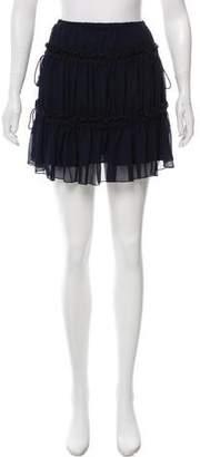 See by Chloe Ruffled Mini Skirt w/ Tags