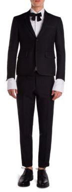 Thom Browne Wool Regular Fit Tuxedo $3,200 thestylecure.com