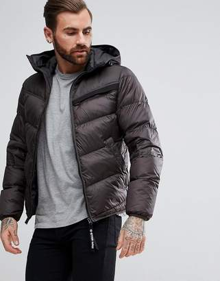 G Star G-Star Attacc Quilted Hooded Down Jacket