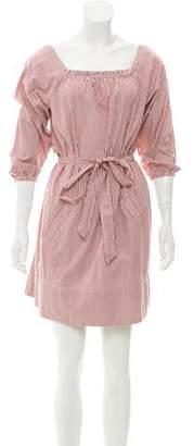 Nili Lotan Stripe Mini Dress