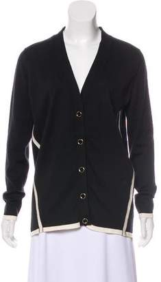 Lanvin Wool V-Neck Cardigan