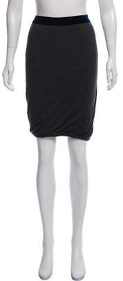 Alexander Wang Knee-Length Bubble Hem Skirt