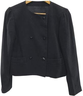 Pierre Cardin Black Cotton Jacket for Women Vintage