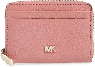 MICHAEL Michael Kors Money Piece Leather Zip Around Wallet