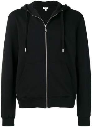 Kenzo zipped hooded sweatshirt